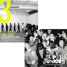 슈퍼 주니어 (Super Junior) 3집 [A+B버전 SET][통에 든 포스터 증정]