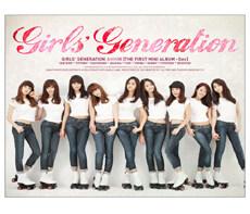소녀시대 - 미니앨범 1집 : 지 (Gee) [통에 든 포스터 증정]